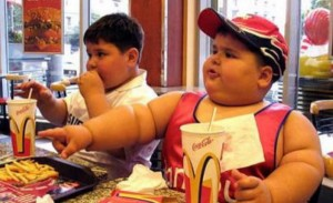 Fat Kids in McDonalds