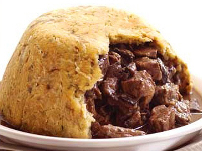 M&S  steak and kidney pudding