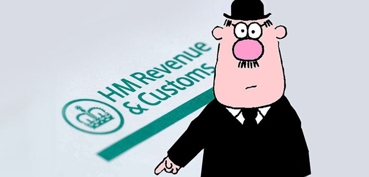 HMRC tax man